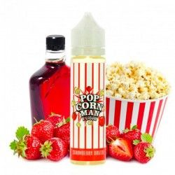 STRAWBERRY DRIZZLE 60ml POPCORN MAN